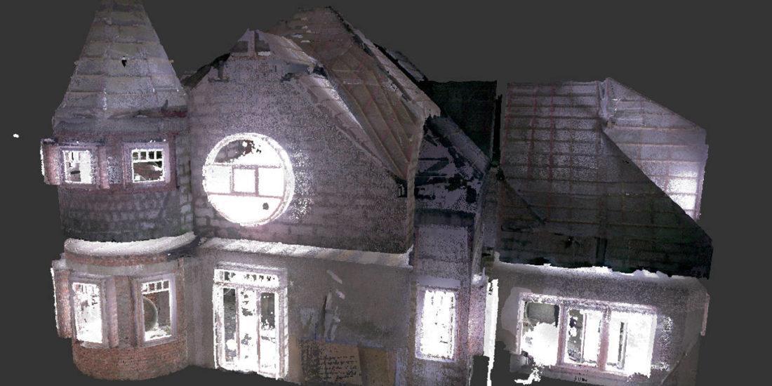Лазерное сканирование коттеджа в Лисьем Носу