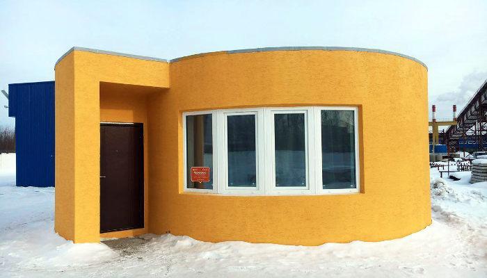 3D типография: решение жилищного кризиса?