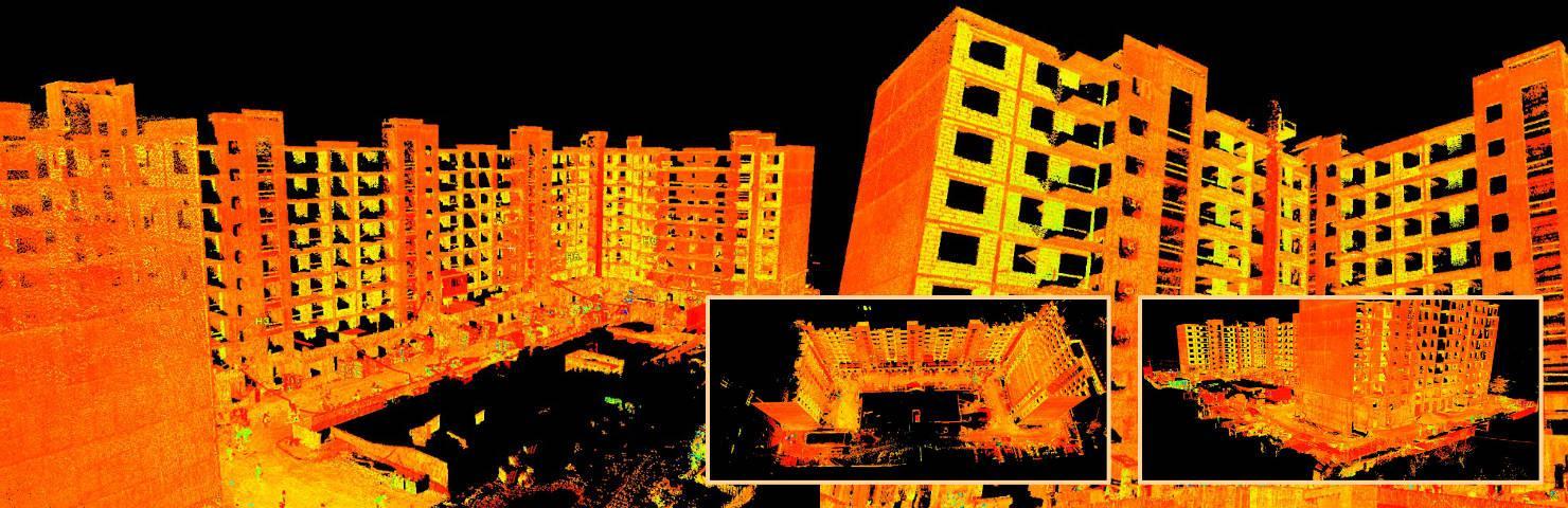 Лазерное сканирование зданий