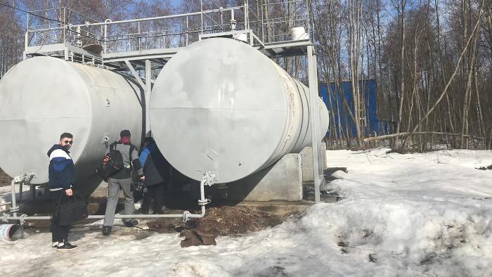 Резервуар РГС-100