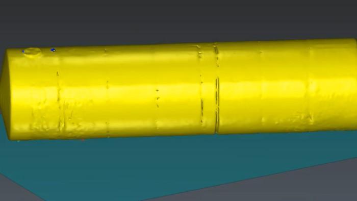 3D-модель резервуара