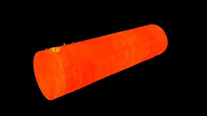 Mesh-модель резервуара в ПО 3D-Reshaper