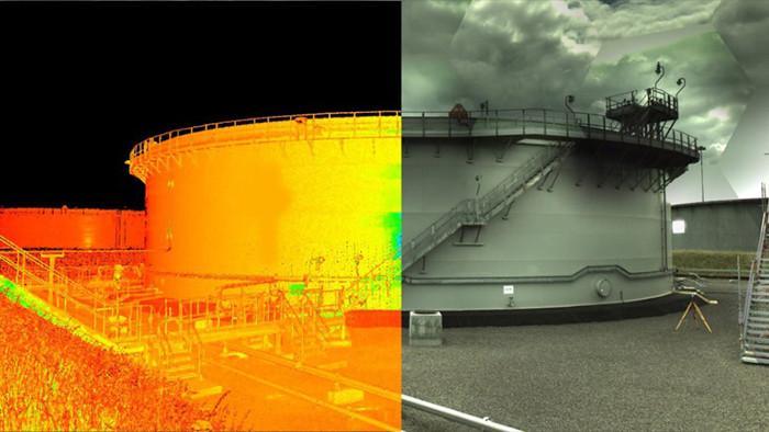 Процесс цифровизации резервуара (пример)